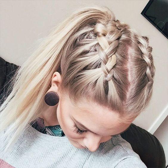 Fresh 22 braids to start your spring hair fling hair styles Braided Hairstyles For Medium Hair Pinterest Choices