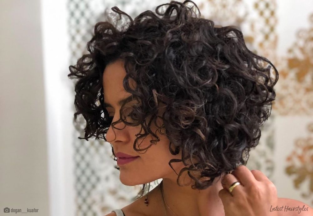 Fresh 22 perms for short hair that are super cute Short Hair Perm Styles Choices