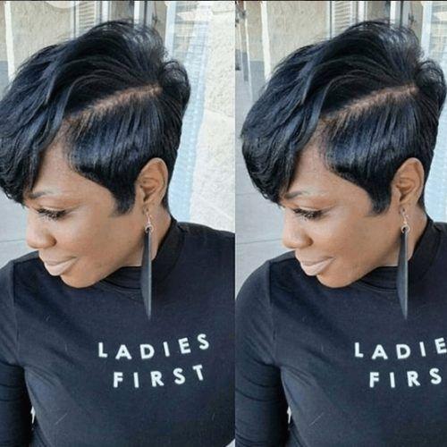 Fresh 25 chic pixie cut black hair combos we love Short Pixie Haircuts For Black Hair Choices
