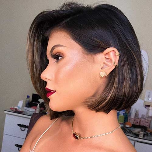 Fresh 25 unique short hairstyles for women with thick hair Short Haircuts For Women With Thick Hair Inspirations