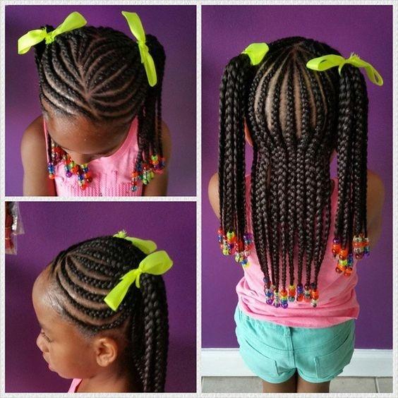 Fresh 40 braids for kids 40 braid styles for girls toddler Little Black Girls Hair Braiding Styles Choices