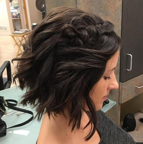 Fresh 40 gorgeous braided hairstyles for short hair tutorials Braided Hairstyles For Thick Layered Hair Inspirations