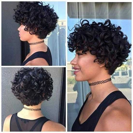 Fresh 40 latest short haircuts for naturally curly hair short Short Haircuts For Naturally Curly Hair Pictures Ideas