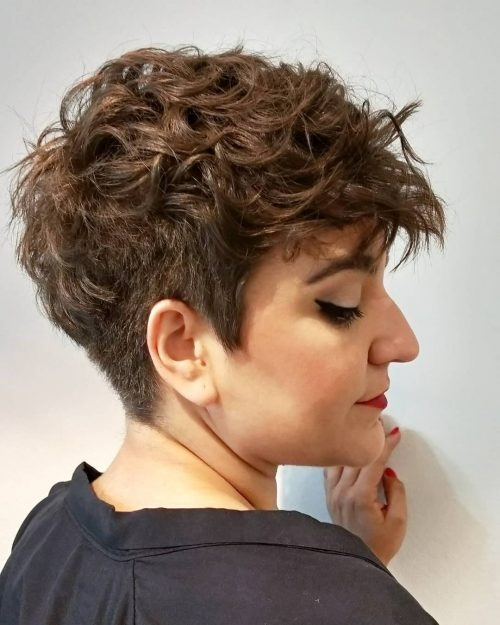 Fresh 45 best short hairstyles for thin hair to look cute Short Curly Fine Hair Styles Choices