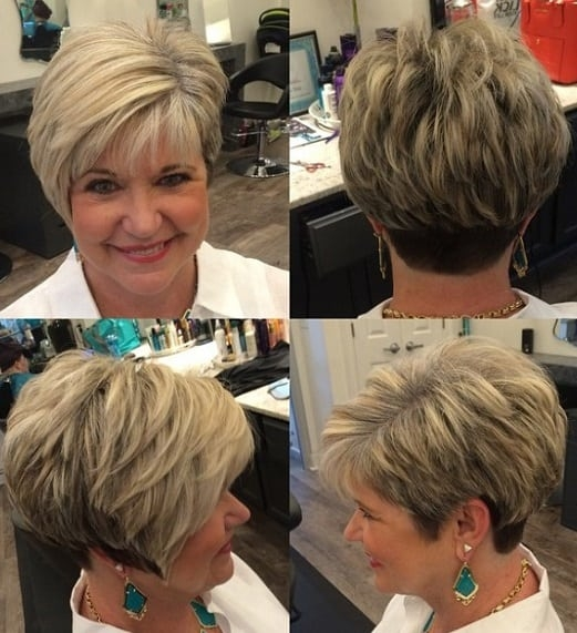 Fresh 50 greatest short hairstyles for round faces over 50 Short Hairstyles For Full Faces Choices