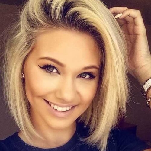 Fresh 50 perfect short haircuts for round faces hair motive hair Cute Short Haircuts For Thick Hair And Round Faces Ideas