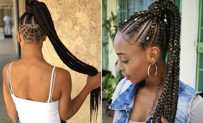 Fresh 63 best braided ponytail hairstyles for 2020 page 2 of 6 Braided Hair Ponytail Styles Inspirations