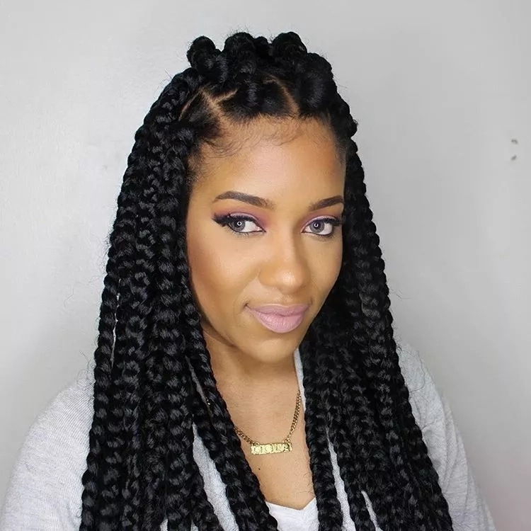 Fresh 75 amazing african braids check out this hot trend for summer Trending African Braiding Hairstyles For Inspirations