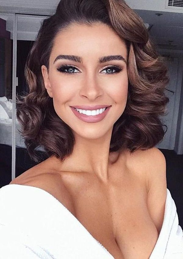 Fresh be the showstopper in the evening with these hairstyles Hairstyle For Short Hair For Evening Party Inspirations