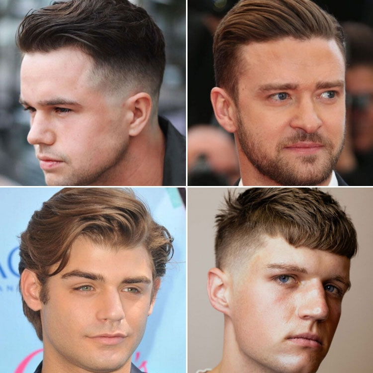 Fresh best hairstyles for men with round faces 2020 styles Short Hairstyles For Round Faces Male Ideas