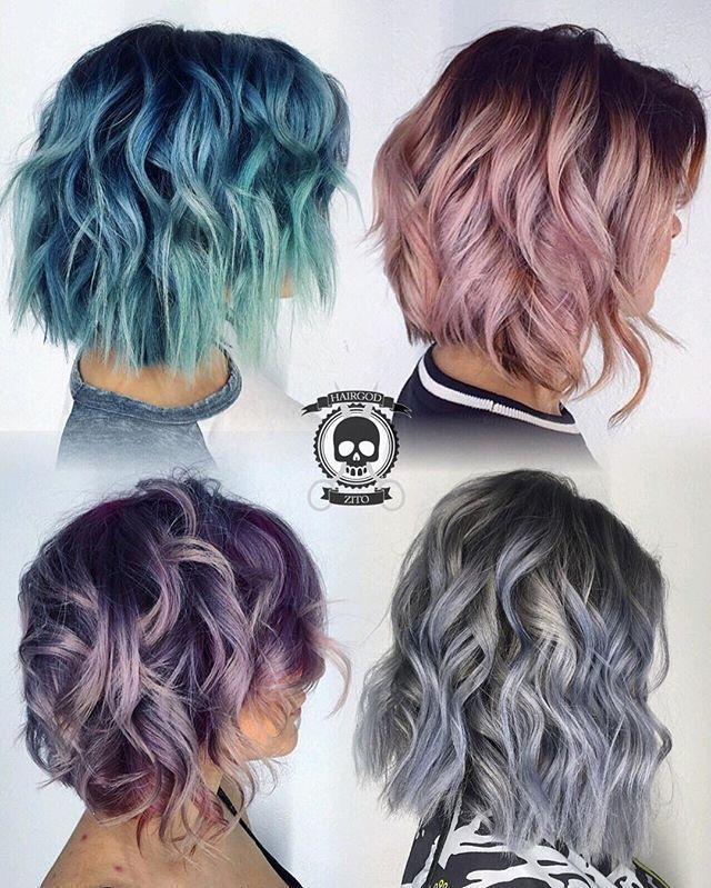 Fresh best short hair color ideas hairstyles fashion and Dye Short Hair Styles Choices