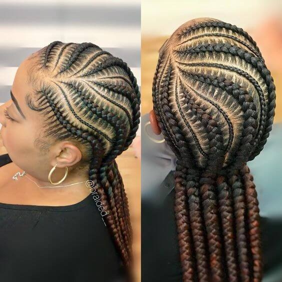 Fresh braid styles for natural hair growth on all hair types for Natural Hair Braiding Styles Ideas