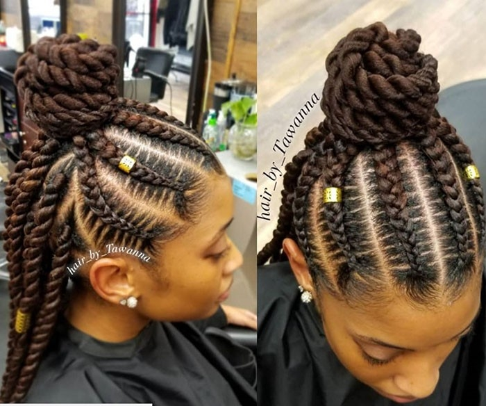 Fresh braided updos for every occasion naturallycurly Braid Hairstyles Updos Inspirations