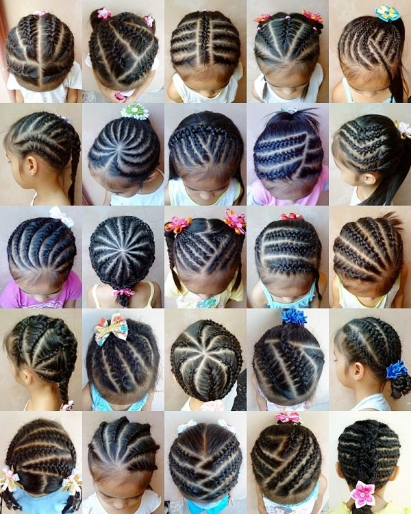 Fresh braids for kids nice hairstyles pictures Braiding Styles For Kids With Short Hair Choices