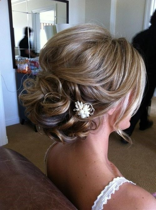 Fresh bridesmaidmaid of honor updo short hair updo updos Short Hairstyle For Maid Of Honor Choices