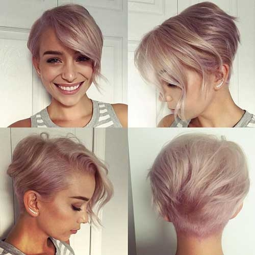 Fresh chic short hair ideas for round faces Short Short Haircuts For Round Faces Choices