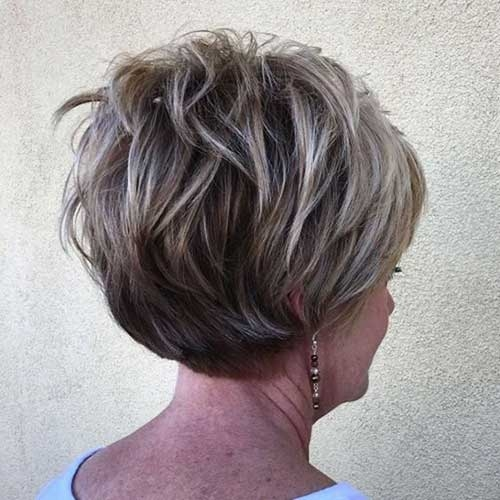 Fresh chic short haircuts for women over 50 Short Hairstyles For 55 Year Old Woman Inspirations