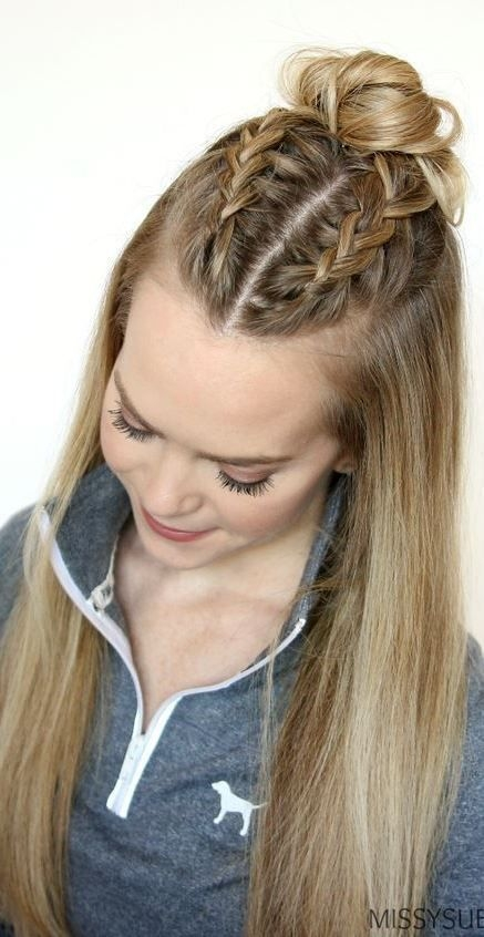 Fresh classy and simple hairstyle ideas for thick hair easy Cute Braid Styles For Thick Hair Ideas