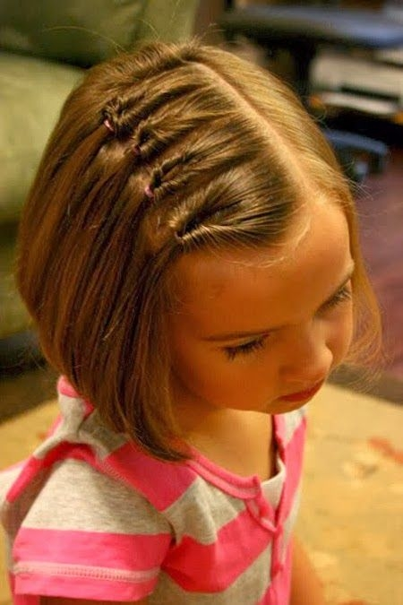 Fresh cute hairdos for short hair for little girls in 2020 Hair Styles For Kids With Short Hair Ideas