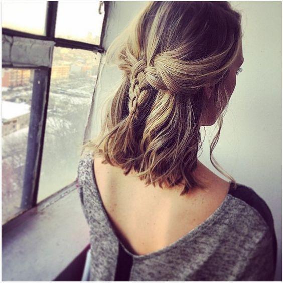 Fresh easy hair style ideas for high school girls short medium Cute Hairstyles For Short Hair For High School Choices