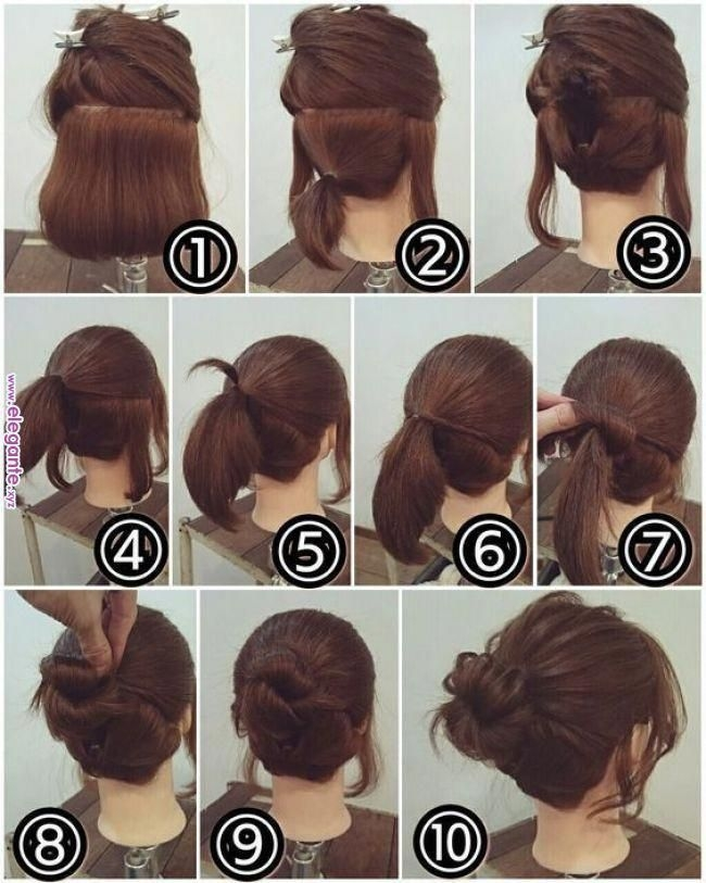 Fresh easy hairstyles at home for medium length hair Cute Hairstyles To Do At Home For Short Hair Choices