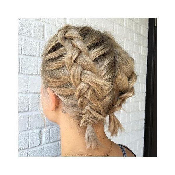 Fresh french braid short hair liked on polyvore featuring French Braid Ideas For Short Hair Ideas