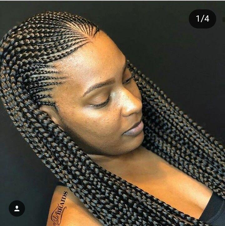 Fresh french braids hair styles african hair braiding styles French Braids Styles Black Hair Choices
