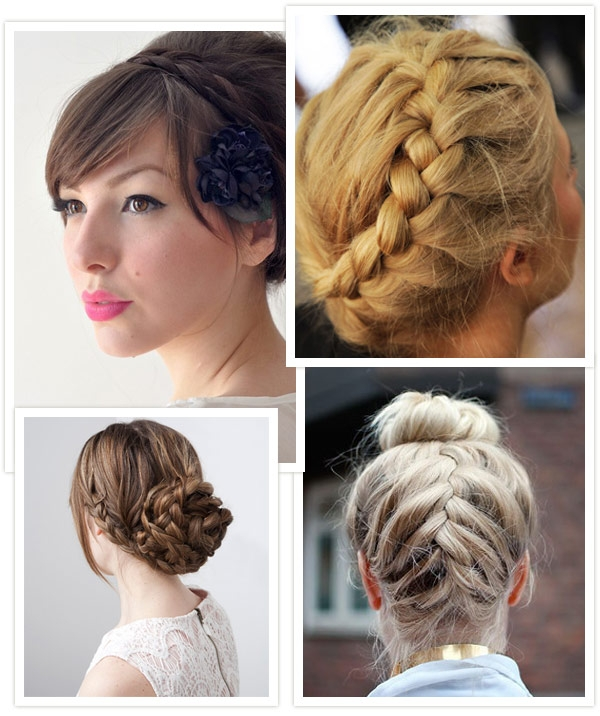 Fresh hairspiration plait and braid hairstyles for your wedding Hair Up Braid Styles Ideas
