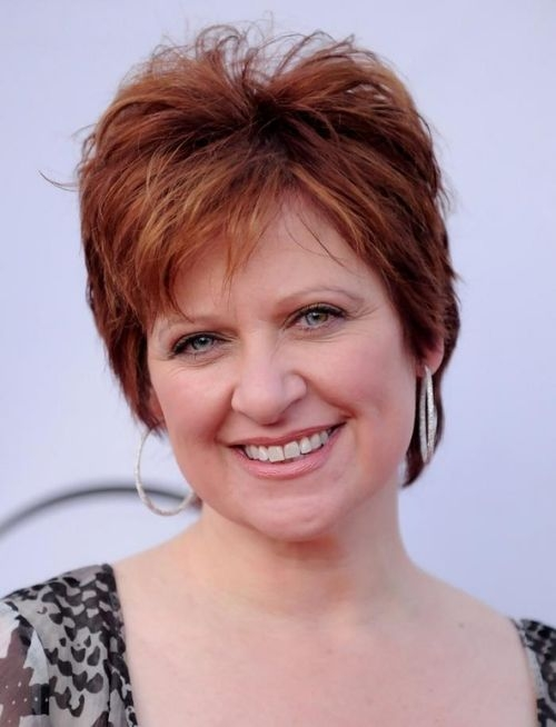 Fresh hairstyles for older women with double chin short Short Hairstyles For Oval Faces With Double Chin Inspirations