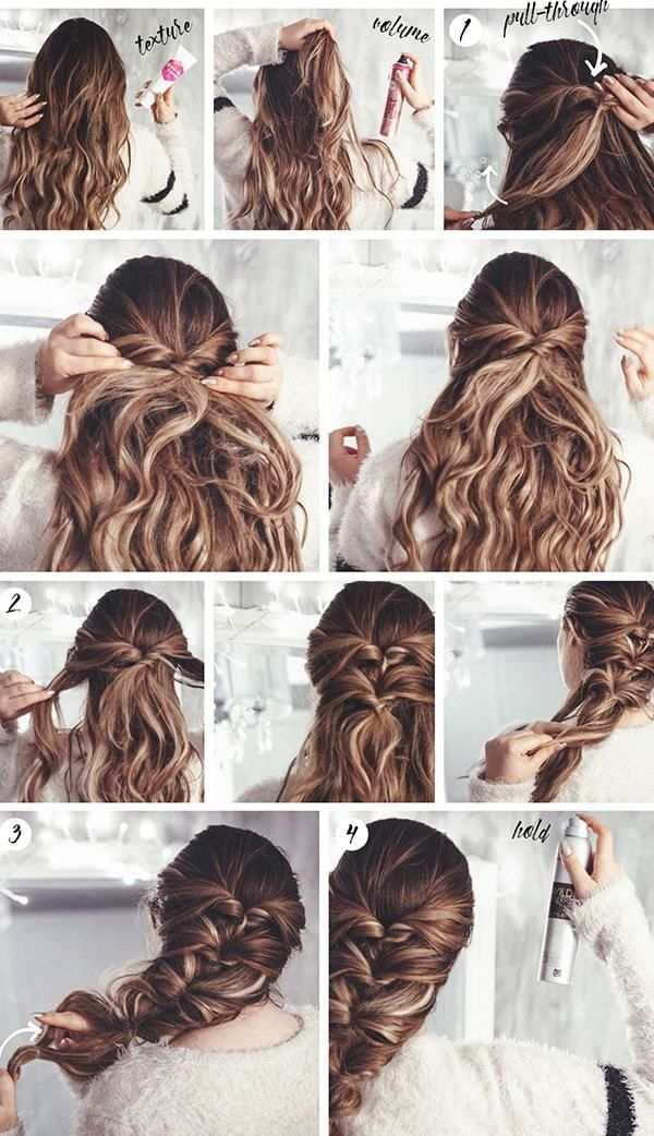 Fresh hairstyles step step very simple and beautiful for school Hairstyle For Short Hair For Party Step By Step Choices