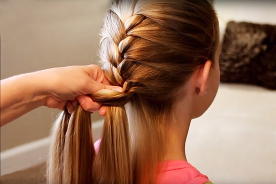 Fresh how to braid hair in 5 easy steps stay at home mum Easy Braided Hairstyles To Do At Home Step By Step Ideas