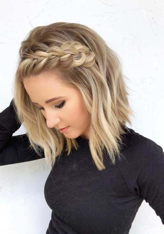 Fresh hummm when i see all these hair color ideas for short Cute Short Hair Styling Ideas Inspirations