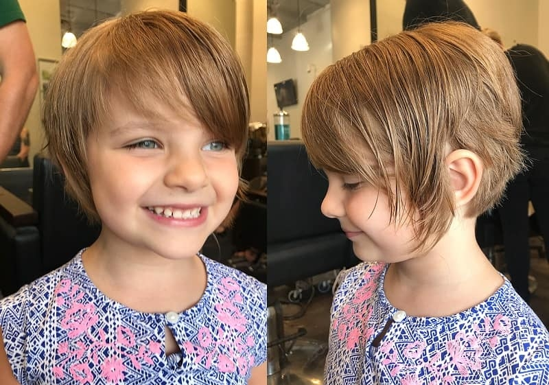Fresh little girl short hairstyles 2020 easy and beautiful Little Girl Short Haircut Inspirations