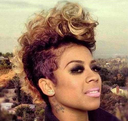 Fresh mohawk short hairstyles for black women Short Hair Mohawk Styles For Black Women Choices