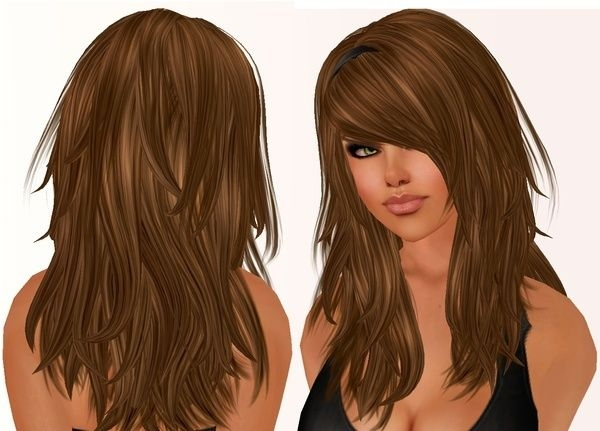Fresh pin kristin rothamer on hair hair styles long hair Long Hair With Short Layers And Side Fringe Ideas