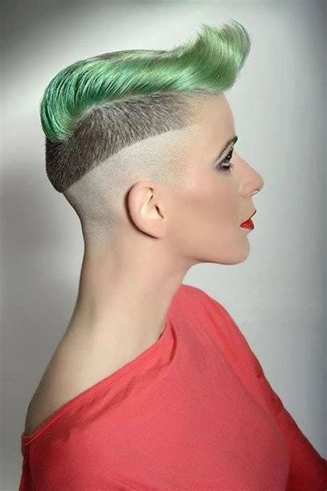Fresh pin on crazy hairstyles Extreme Short Haircuts For Women Inspirations