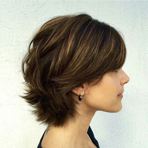 Fresh pin on hair styles Short Layered Styles For Thick Hair Ideas