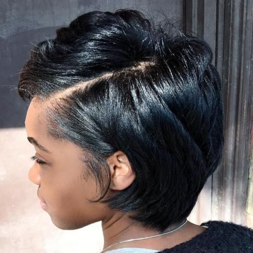 Fresh pin on hairstyles Cute Short Haircuts For Thick Black Hair Inspirations