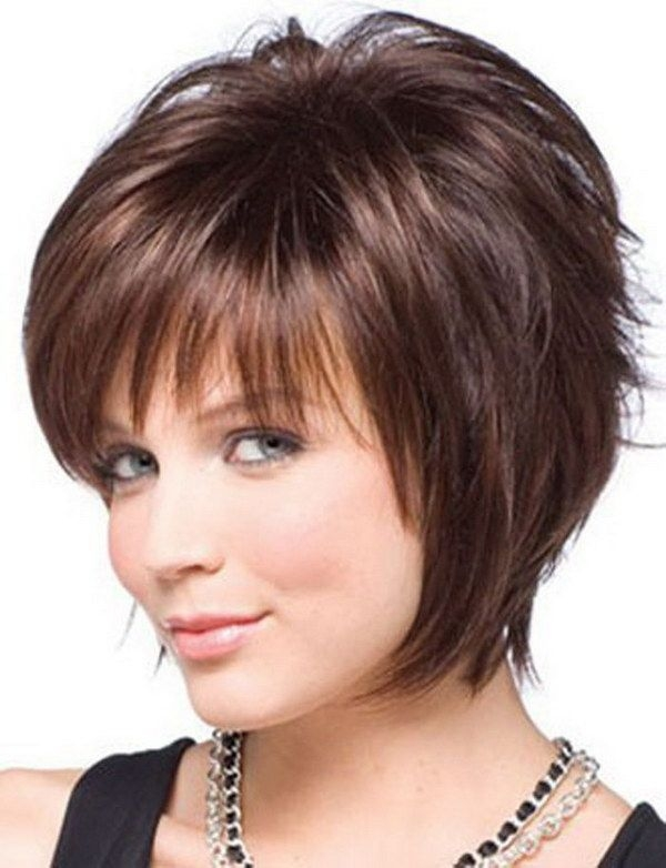 Fresh pin on hairstyles Short Haircut For Thin Hair And Round Face Ideas