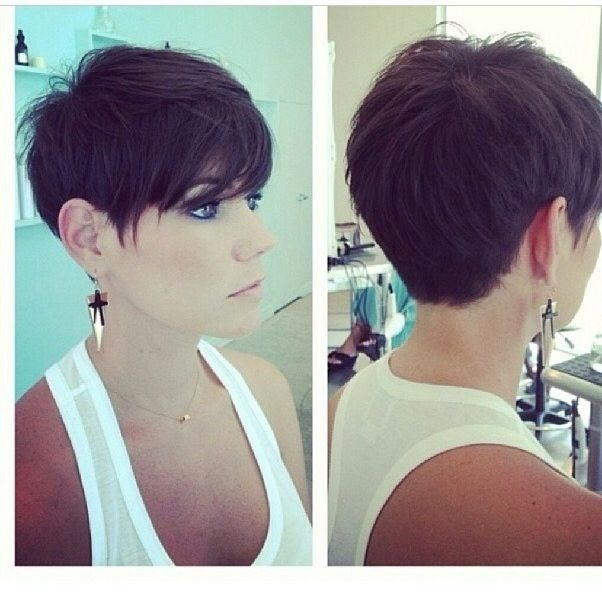 Fresh pin on hairstyles Womens Short Haircuts Front And Back Inspirations