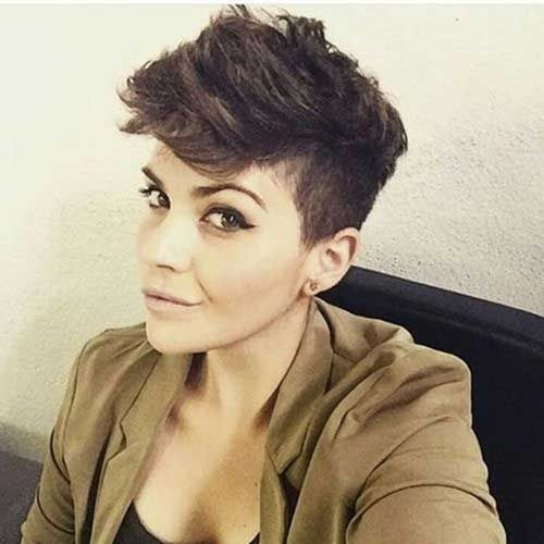 Fresh pin on style board Short Pixie Hairstyles For Thick Hair Inspirations