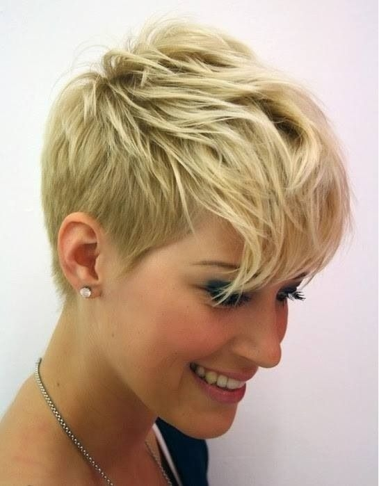 Fresh pin tyla gernert on style short thin hair short hair Short Spunky Hair Styles Choices