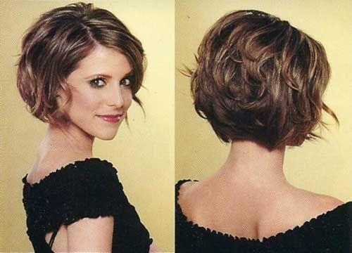 Fresh short hairstyles beautiful thick hair short hairstyles best Short Haircuts For Wavy Thick Hair Ideas