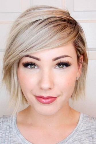 Fresh short hairstyles for round faces 2020 45 haircuts for round Short Even Hair Styles Ideas
