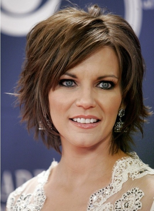 Fresh short layered hairstyles with bangs popular haircuts Short Layered Hairstyles With Bangs For Thick Hair Inspirations