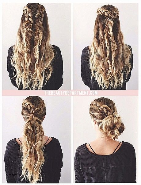 Fresh simple updos for long thick hair new hair styles ideas Braided Updos For Long Thick Hair Ideas