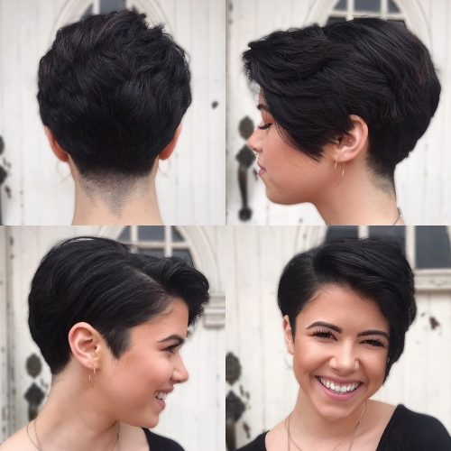 Fresh the 15 best pixie cuts for thick hair trending in 2020 Short Pixie Haircuts For Thick Curly Hair Choices