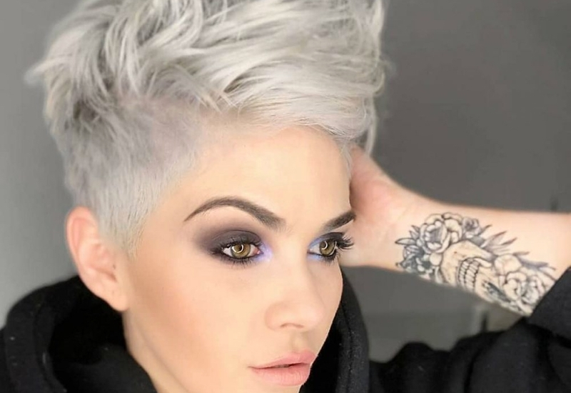 Fresh the 15 best short hairstyles for thick hair trending in 2020 Short Short Hair Styles Inspirations