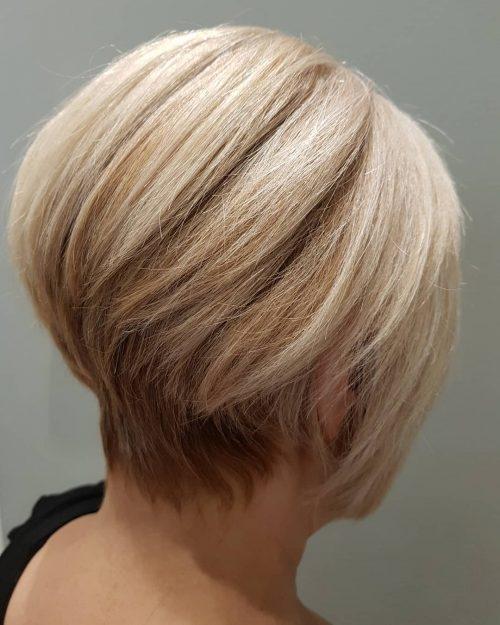 Fresh top 17 wedge haircut ideas for short thin hair in 2020 Short Wedge Haircut Choices