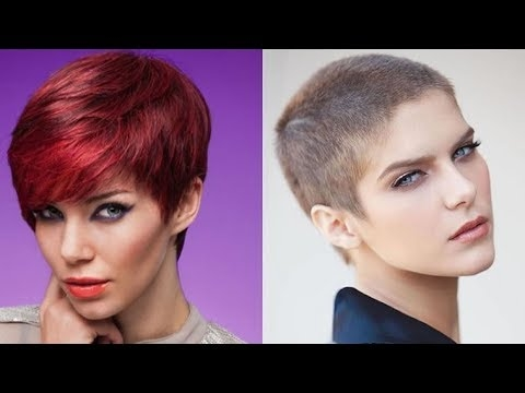 Fresh ultra short and short pixie hairstyles and haircuts for women 2018 the different versions available Ultra Short Pixie Haircut Choices